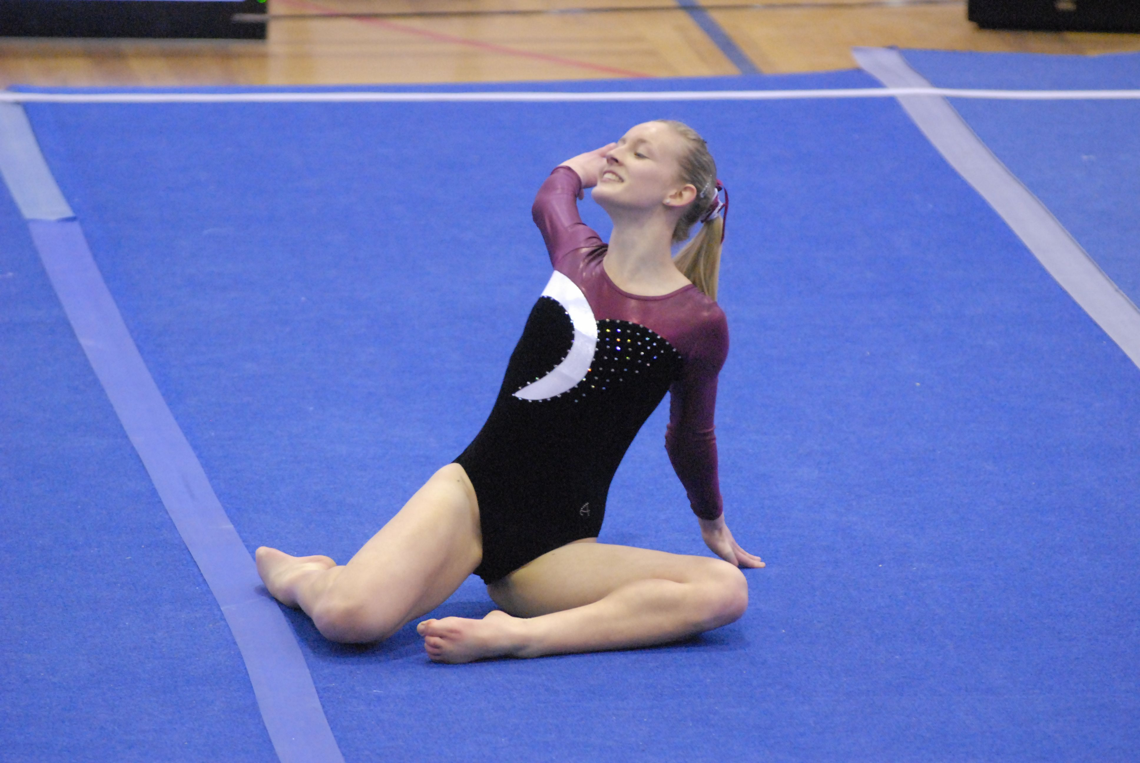 Graded at level 10, Liv is Tasmania's top ranked female gymnast.